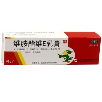 邦力维胺酯维E乳膏15g