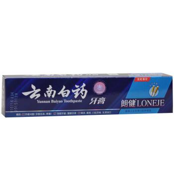 云南白药牙膏(朗健清爽薄荷)120g