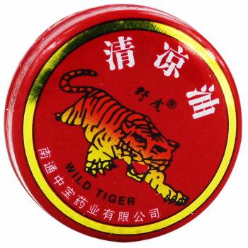 中宝药业野虎清凉油3g