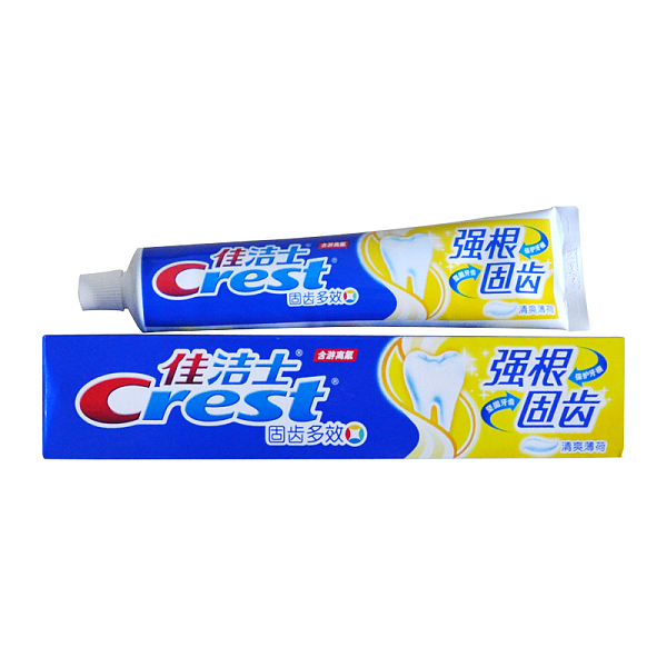 佳潔士強根固齒牙膏140g