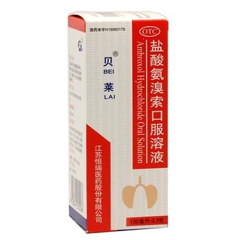 恒瑞贝莱盐酸氨溴索口服液100ml:0.3g