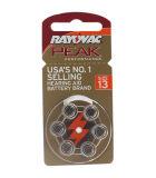 雷特威助听器配件电池6颗 A13