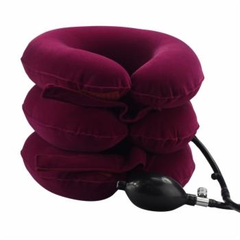 豪邦HB-A09 颈椎牵引固定器(玫红)