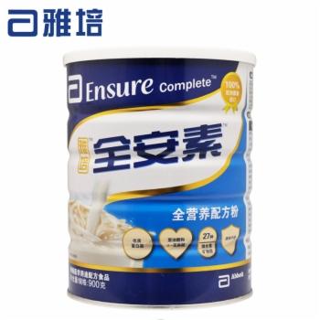 雅培全安素全营养配方粉900g