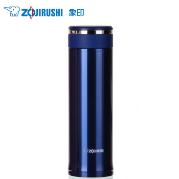 象印不锈钢真空保温杯 480ML SM-JC48-AX 深蓝