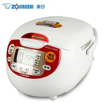 象印日本原装进口电饭煲3L NS-ZCH10HC-RA 尊贵红