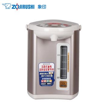 象印液晶电热水瓶 3L CD-WBH30C-CT 粉棕