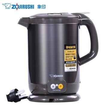 象印手提式电热水瓶1L CK-EAH10C-TA 黑