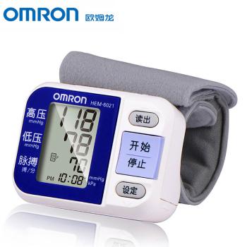 欧姆龙HEM-6021电子血压计 智能手腕式
