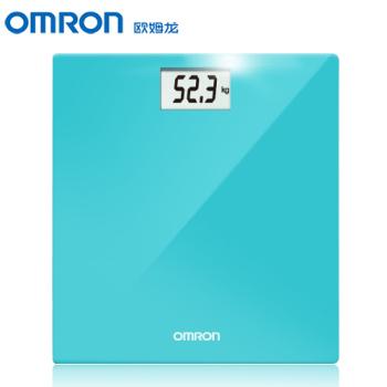 欧姆龙电子体重秤HN-289-B 蓝色
