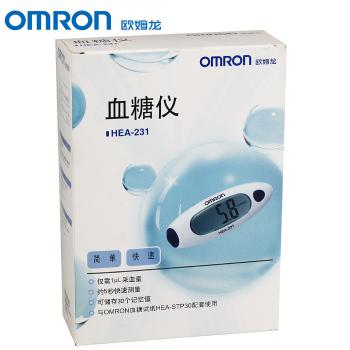 欧姆龙血糖测试仪 HEA-231