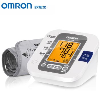 欧姆龙电子血压计 HEM-7209 智能语音上臂式