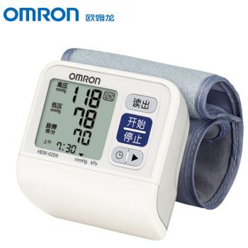 欧姆龙智能手腕式电子血压计HEM-6208