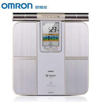 欧姆龙身体脂肪测量器HBF-701体重秤健康电子称体脂仪