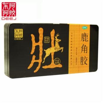 鹿角胶(铁盒) 6g*18块