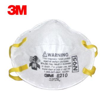 3M-8210-N95头戴式防颗粒物口罩