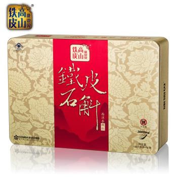康恩贝高山铁皮无糖型冲剂礼盒3g*6包/盒*4盒