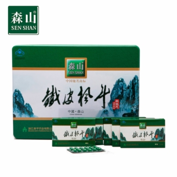 森山铁皮枫斗胶囊0.4g*12粒*6盒