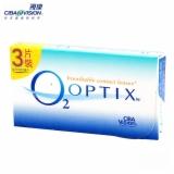 视康舒视氧O2白片隐形眼镜月抛3片装