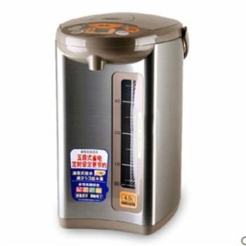 象印液晶电热水瓶 4L 粉棕CD-WBH40C-TS