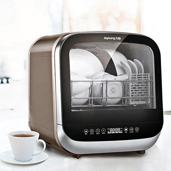 九阳 免安装家用台式洗碗机 全自动智能烘干除菌 X5
