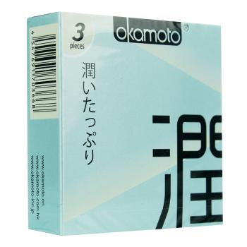 冈本OK-极润避孕套3片装