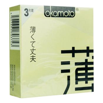 岡本OK-透薄避孕套3片裝