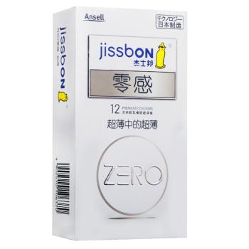 杰士邦零感超薄避孕套12只