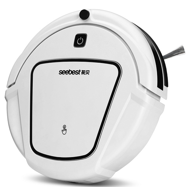 Seebest/视贝清理扫地机器人吸尘器智能家用超薄全自动擦地机拖地 D730