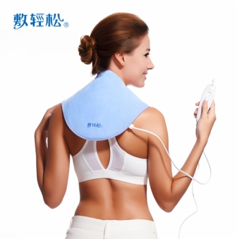 信乐敷轻松(颈椎部)超柔豪华款远红外电子热敷垫艾灸组合装