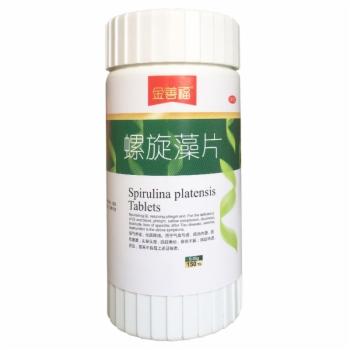 螺旋藻片0.35g*150s*2瓶