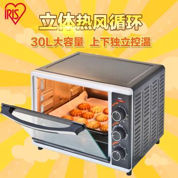 愛麗思IRIS 立體熱風循環家用烘焙多功能電烤箱30L FVC-D30AC