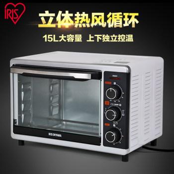 愛麗思IRIS 立體熱風循環家用烘焙多功能電烤箱15L FVC-D18AC