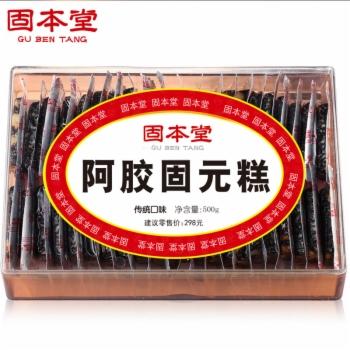 固本堂传统型阿胶固元膏500g