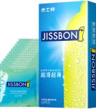 杰士邦超滑超薄避孕套12只