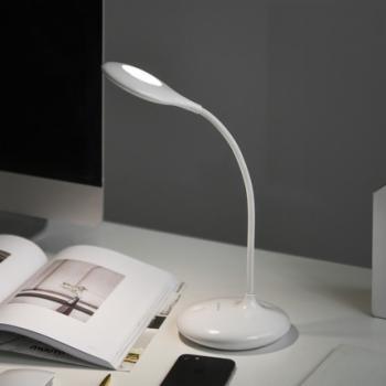 实智可充电式LED台灯  感应开关 无极调光 360�自由旋转