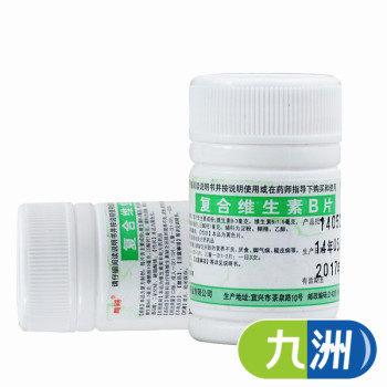 鹏鹞复合维生素B片100片