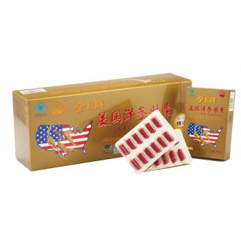 金日牌美国洋参胶囊0.5g*12粒*12盒