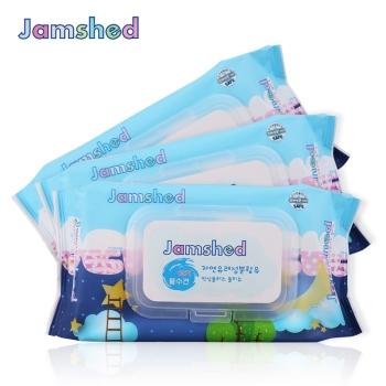Jamshed简沐 婴童洁肤湿巾70抽(带盖)
