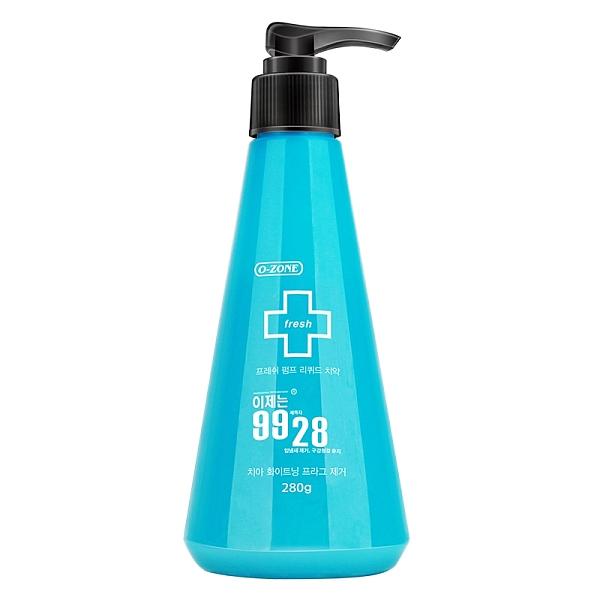 O-ZONE 9928清凉泵压液体牙膏 280g
