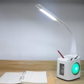 多功能护眼台灯 T188-2笔筒+万年历+夜灯