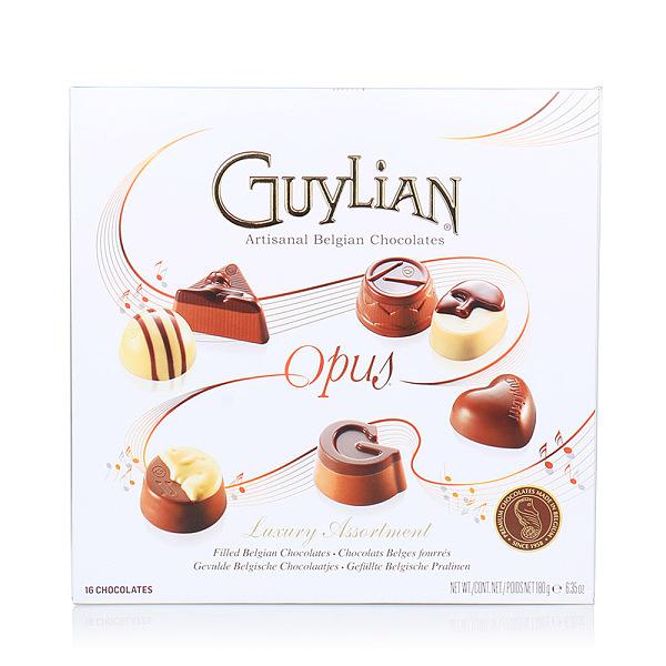 比利时进口 Guylian吉利莲 经典巧克力礼盒180g
