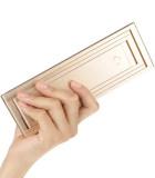 TV8便携式4段折叠LED多功能台灯,金色