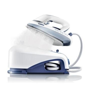 卓力 EB2558 增压蒸汽熨烫机 手持压力式 蒸汽电熨斗 经典蓝
