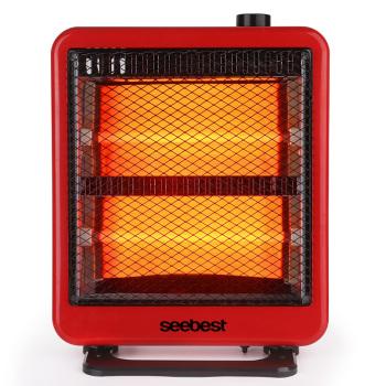 视贝 反射式石英管取暖器电暖器 台式 家用办公室两用 SH1005Q