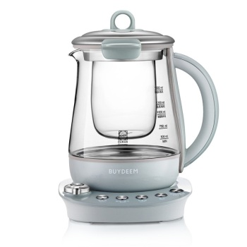 ?#20493;?K157养生壶燕窝壶 升级版隔水炖盅 全自动加厚玻璃壶 可自制酸奶