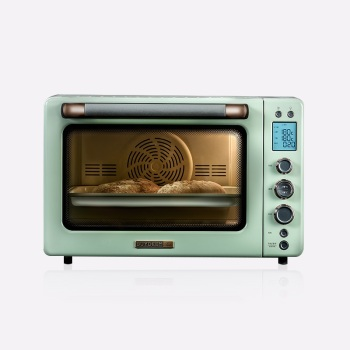 北鼎 T751家用烘焙多功能全自動電烤箱 49L大容量 AMELIE綠