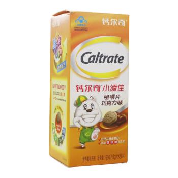 钙尔奇小添佳咀嚼片(巧克力味)160g(2.0g*80s)