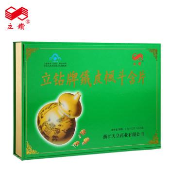 立鉆牌鐵皮楓斗含片0.5g*12片*10小盒 禮盒裝