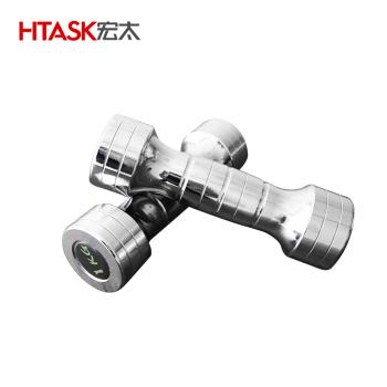 宏太HTASK 女士电镀哑铃运动脂肪HT-02WD 1KG*2